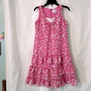 The Childern's Place Sleeveless Pink Dress